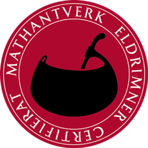 Eldrimner certifierat mathantverk logo